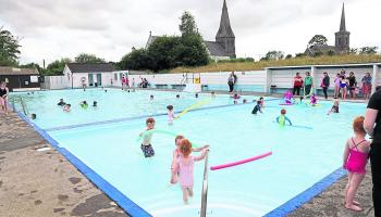 Ballinakill outdoor pool back 'bigger and stronger' next year- 600