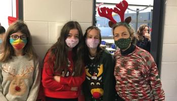 Christmas jumpers and Carols at Mountrath Community School