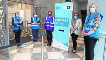 Latest date announced for Laois Covid-19 vaccination centre walk-ins in Portlaoise