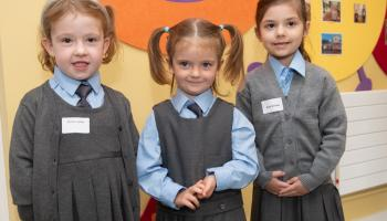 In Pictures Big steps for the junior infants in Laois