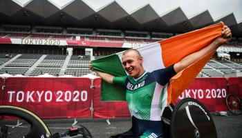 In Pictures: Gary O'Reilly is Portlaoise's king of the road in Tokyo