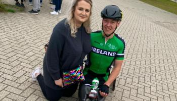 Fiancée of Portlaoise Paralympian star blown away by support of local community