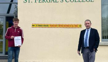 St. Fergal's College student achieves 625 points in Leaving Cert