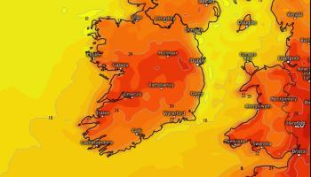 Mini heatwave on the way! Hot weather forecast for the coming  week for Ireland
