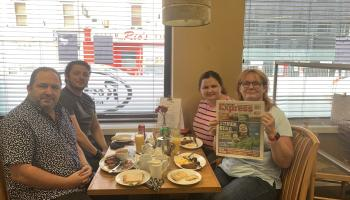 Morning Coffee with the Leinster Express in Portarlington
