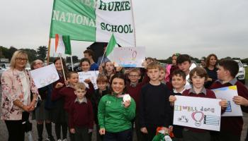 IN PICTURES Portarlington gives hero's welcome to Paralympic medalist Nicole Turner