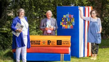 Mountmellick transforms into the Laois hive of verse as Poetry Town Laois