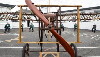 Portlaoise Plane makes triumphant return to Laois