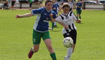 Portlaoise AFC U14 Girls pull off heroic comeback win