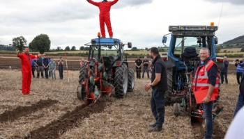 In Pictures: Sports stars welcomed to the ploughing in Laois by resplendent Anna May