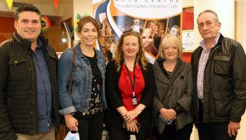 In Pictures: Dunamaise Arts Centre bursts back into life on Culture Night Laois