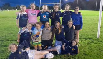 Could you be the next Alison Miller? Portlaoise Rugby Club looking for more U14 girl players