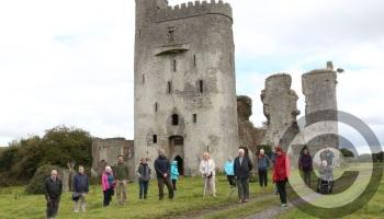 In PICTURES : Living Laois history at Ballyadams Castle
