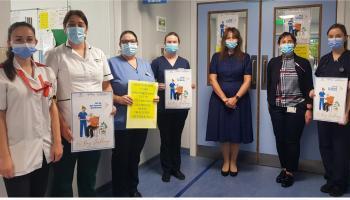 Get up, Get dressed, Get moving challenge in Portlaoise hospital
