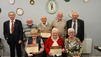 Special recognition for lifelong members of Mountmellick PTAA pioneers