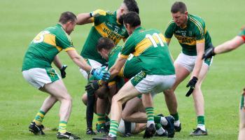 Injured hero Walsh kicks late winner as Ballylinan survive while The Heath drop to Intermediate