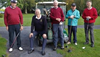 IN PICTURES: Portarlington Golf club hold delayed 2020 President's Prize