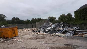 WATCH Portlaoise prefab demolition marks concrete start of big project