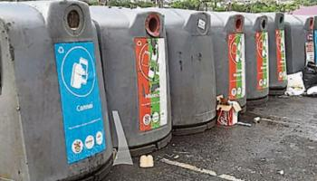 Over 1,000 tonnes of bottles and cans recycled at Laois bring banks