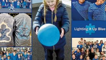 Educate Together goes blue for Autism