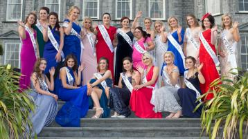 Laois Rose selection night has begun and it couldn't be more exciting!