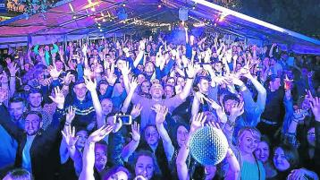 Old Fort stage expands to brand new tented arena for Portlaoise festival