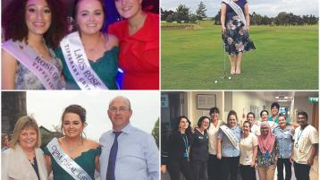 Laois Rose of Tralee Sarah Bergin ready to tee off on Tralee stage