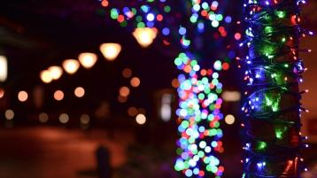 Mountmellick Christmas Lights thanks and fundraising messages