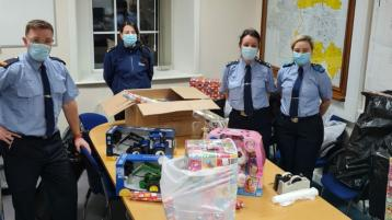 Laois Garda Inspector's toy fund shows what Christmas is all about