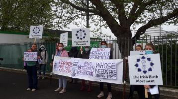 Expecting Laois mum calls on people to 'take a stand' against 'barbaric' hospital Covid-19 maternity restrictions