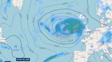 OMG where is summer weather? Met Éireann warns strong gales and heavy rain set to pound in Ireland