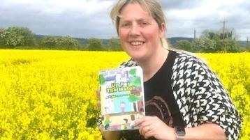 Laois resident releases new GAA book for kids