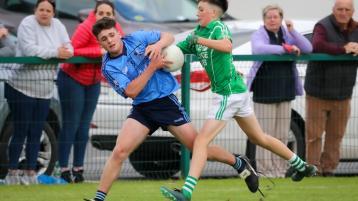 Ballyroan Abbey hold off Killeshin second-half fight back to add U-15 'B' silverware