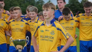 Superb St Joseph's prove too strong for battling Ballylinan in U-15 'A' Football final