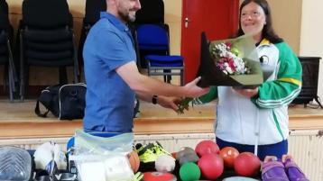 Laois Paralympian gives back to community