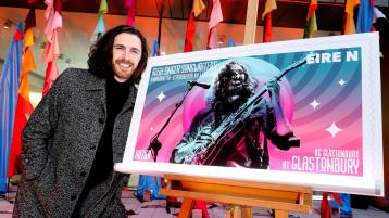 Hozier and other Irish singers star in show to launch very collectable new Irish stamps to help pandemic hit performers
