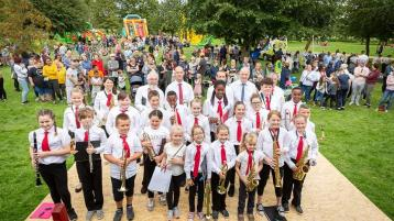 Laois concert band to perform for free in open air this weekend