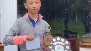 Portarlington golfer claims prestigious amateur prize