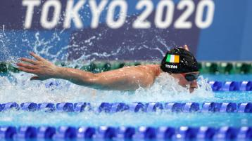 PHOTOS Olympic swimmer with Laois roots sets Irish record in Tokyo