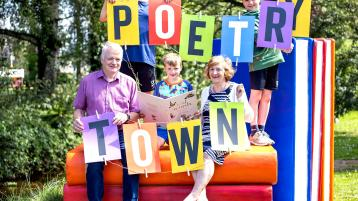 Laois town selected as one of 20 Irish 'poetry towns' for festival