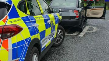 Unbelievable speeding learner learning the hard way after being halted by Laois Offaly gardaí