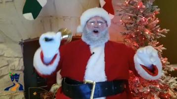 Santa wants you to have festive fun durin the Dunamaise Arts Centre's 12 Days of Christamas in Portlaoise