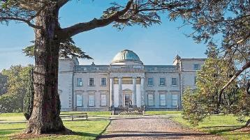 Worn out paths under repair at hugely popular Emo Court in Laois