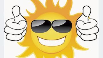 Here comes the sun! Hurrah! Met Éireann finally has some good weather news