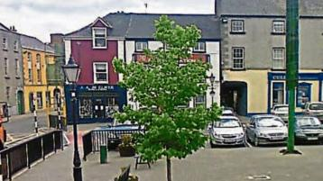 Upgrade of Laois town's Georgian square 'parked' so bigger job can be done