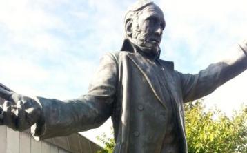 James Fintan Lalor statue in Portlaoise