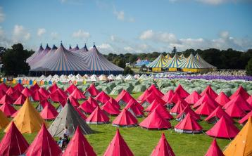 Go Glamping at Electric Picnic 2018! Pre-erected bell tents, tipis, yurts, and wooden chalets have gone on sale