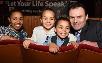 Gallery of photos from 'Let Your Life Speak' , launched by Senator David Norris