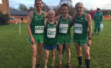 Martin McDonald takes gold at British and Irish Masters Cross Country in Derry