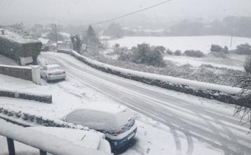 Laois school bus skidded into a ditch on icy roads